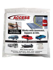 Access Accessories TRAILSEAL Tailgate Gasket 1 Kit Fits All Pickups