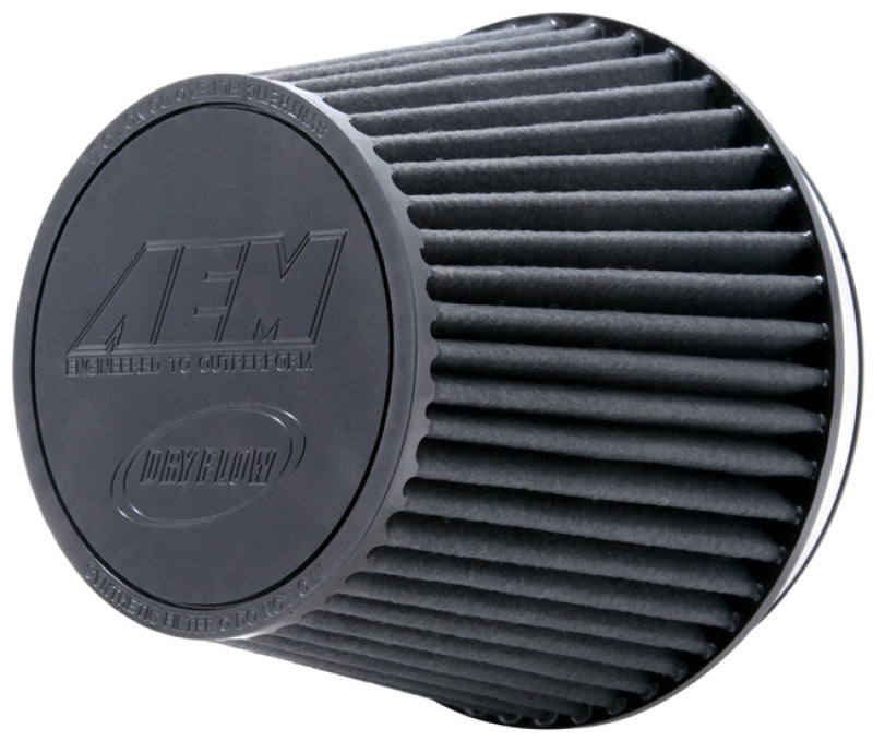 AEM DryFlow Air Filter 7.5in Base OD / 5.125in Top OD / 6in Flange ID / 6.125in Height