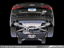 Load image into Gallery viewer, AWE Tuning Audi C7.5 A6 3.0T Touring Edition Exhaust - Quad Outlet Chrome Silver Tips