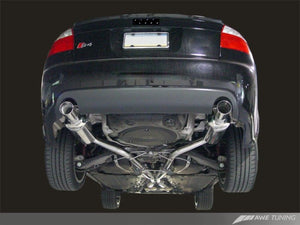 AWE Tuning Audi B6 S4 Touring Edition Exhaust - Polished Silver Tips