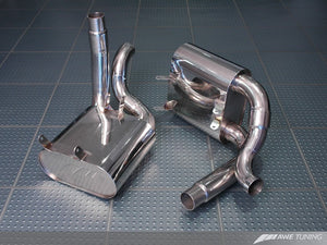 AWE Tuning Porsche 997/997S Performance Muffler Set (for use w/OEM Tips or AWE Tuning tips)