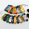 Image of Spring Trendy happy Socks men Cotton Boat Man Socks Interest Funny Originality Series harajuku ankle sock Animal fruit