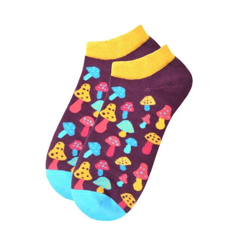 Spring Trendy happy Socks men Cotton Boat Man Socks Interest Funny Originality Series harajuku ankle sock Animal fruit
