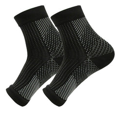 1 Pair Foot Angel Anti Fatigue Men Compression Breathable Socks