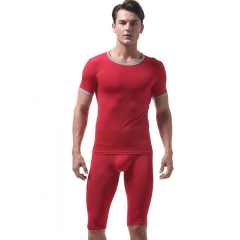 Mens pyjama underwear set