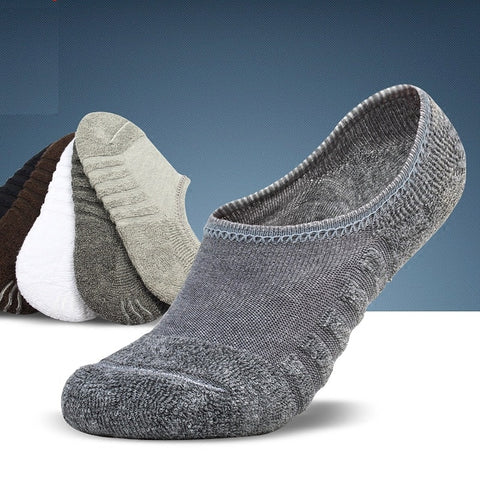 3 Pairs Men's  Cotton Socks Anti-Slip