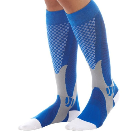 EFINNY Men Women Leg Support Stretch Compression Knee Socks