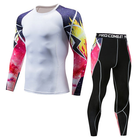 Thermal Underwear  Men Sets Compression