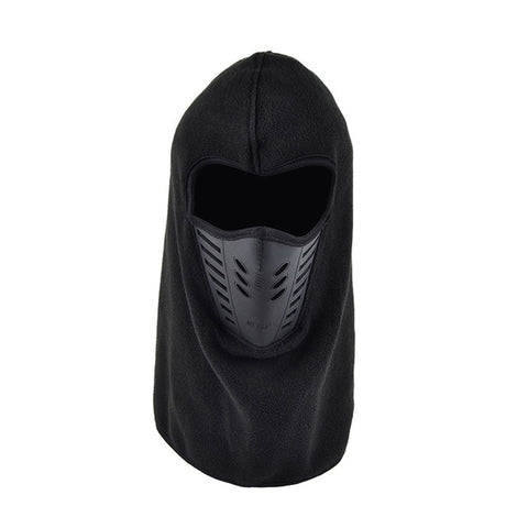 Thermal Fleece Neck Warm Balaclava Ski Full Face Mask Cap Protection For Adult Cyclelist Outdoors Hunting Camping Hiking Fishing