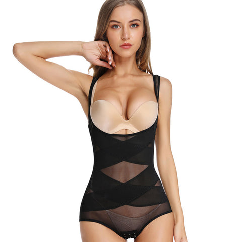 Women Body Shaper Waist Trainer Slimming Underwear Bodysuit