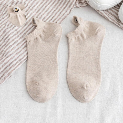 Embroidered Expression Women Socks