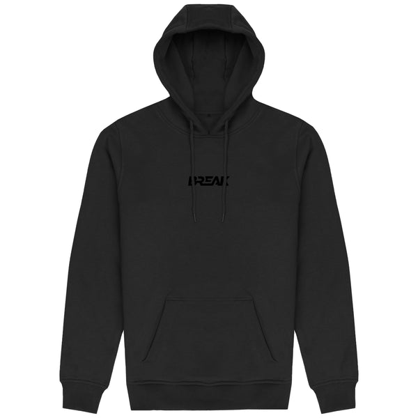 3D Embroidered Pullover Hoodie - Blackout