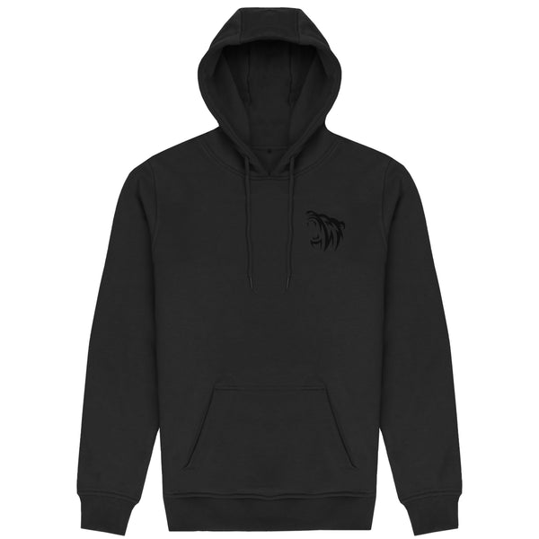 Classic Embroidered Pullover Hoodie - Blackout