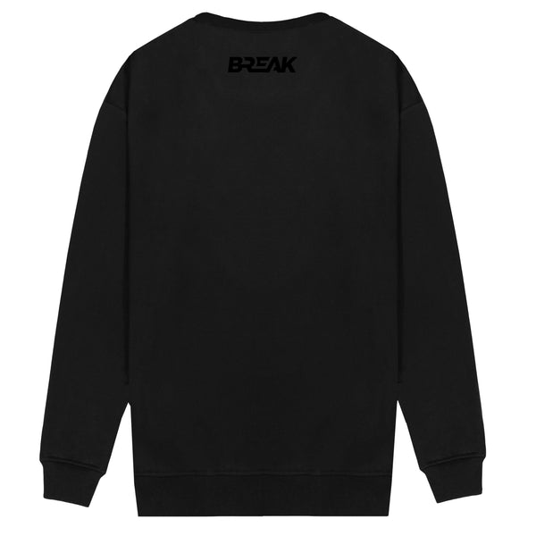 Classic Embroidered Sweatshirt - Blackout