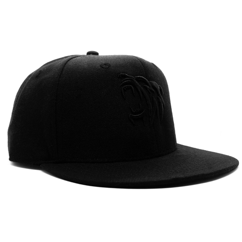 Bear Snapback - Blackout