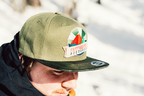 NEW FREEWATER CAP - Green Camo