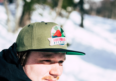 NEW FREEWATER CAP - Military Green/Black