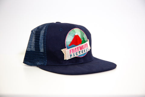Freewater Cap - Marine Blue