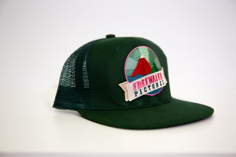 Freewater Cap - Dark Green
