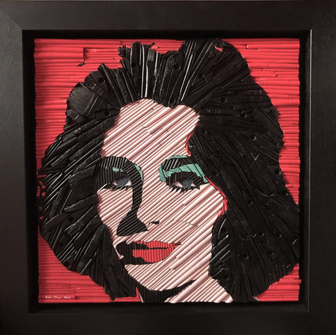 Liz Taylor (after Andy Warhol)
