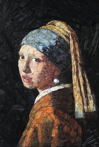 Girl with a Pearl Earring (after Johannes Vermeer)