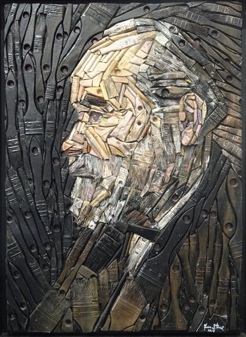 Man with Beard (after Vincent Van Gogh)