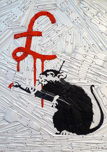 Money Rat (after Banksy)