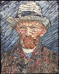 Van Gogh (after Vincent Van Gogh - in blue)