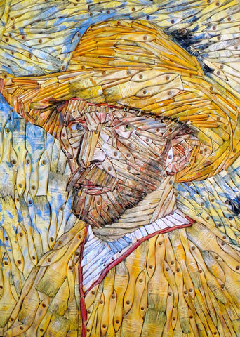 Van Gogh (after Vincent Van Gogh - in yellow)