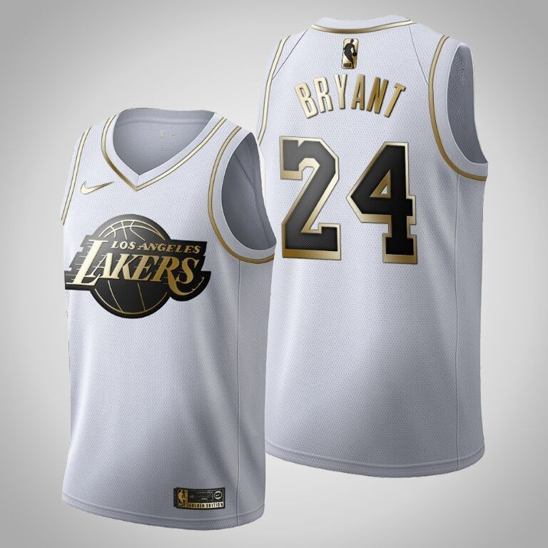white and gold jersey