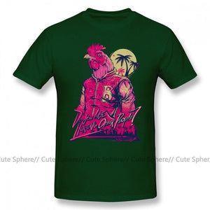 Hotline Miami T Shirt Hotline Miami Richard T-Shirt Print Fashion Tee Shirt 4xl 100 Cotton Funny Short Sleeve Male Tshirt