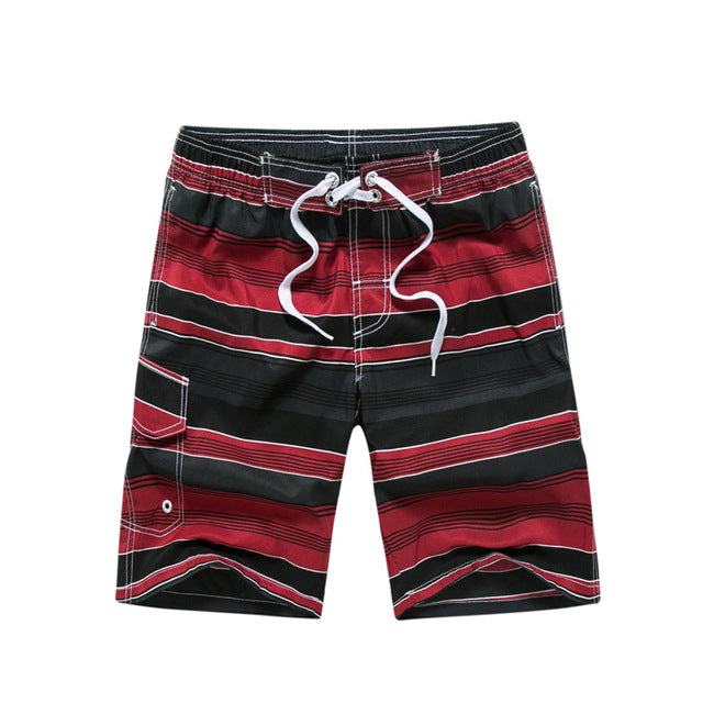 tailor pal love men quick drying summer beach shorts lightweight stripe swimwear board shorts M-3XL JPYG183