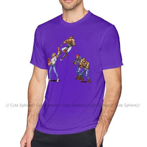 Streets Of Rage T Shirt Streets Of Rage - Axel T-Shirt 100 Cotton Short Sleeve Tee Shirt Fashion Tshirt