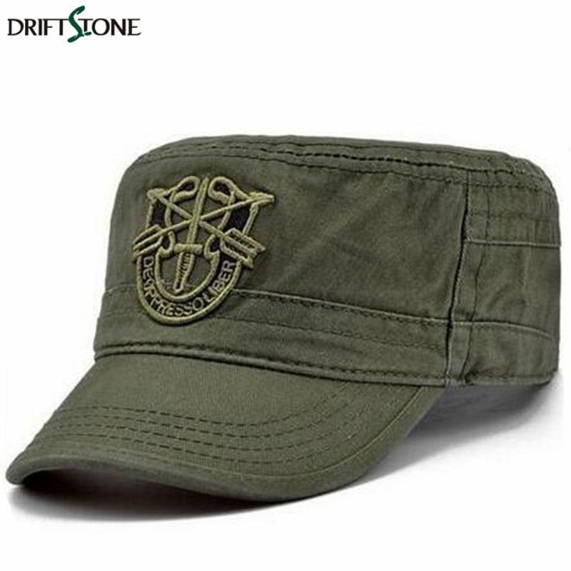 Military Soldier Combat Hat Cap Unisex Cotton Army Camouflage cap Adjust size for 55-59 cm