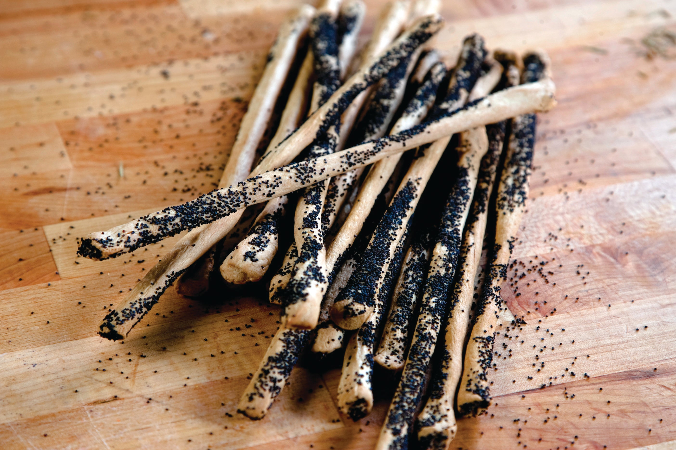 Poppy Seed Sticks