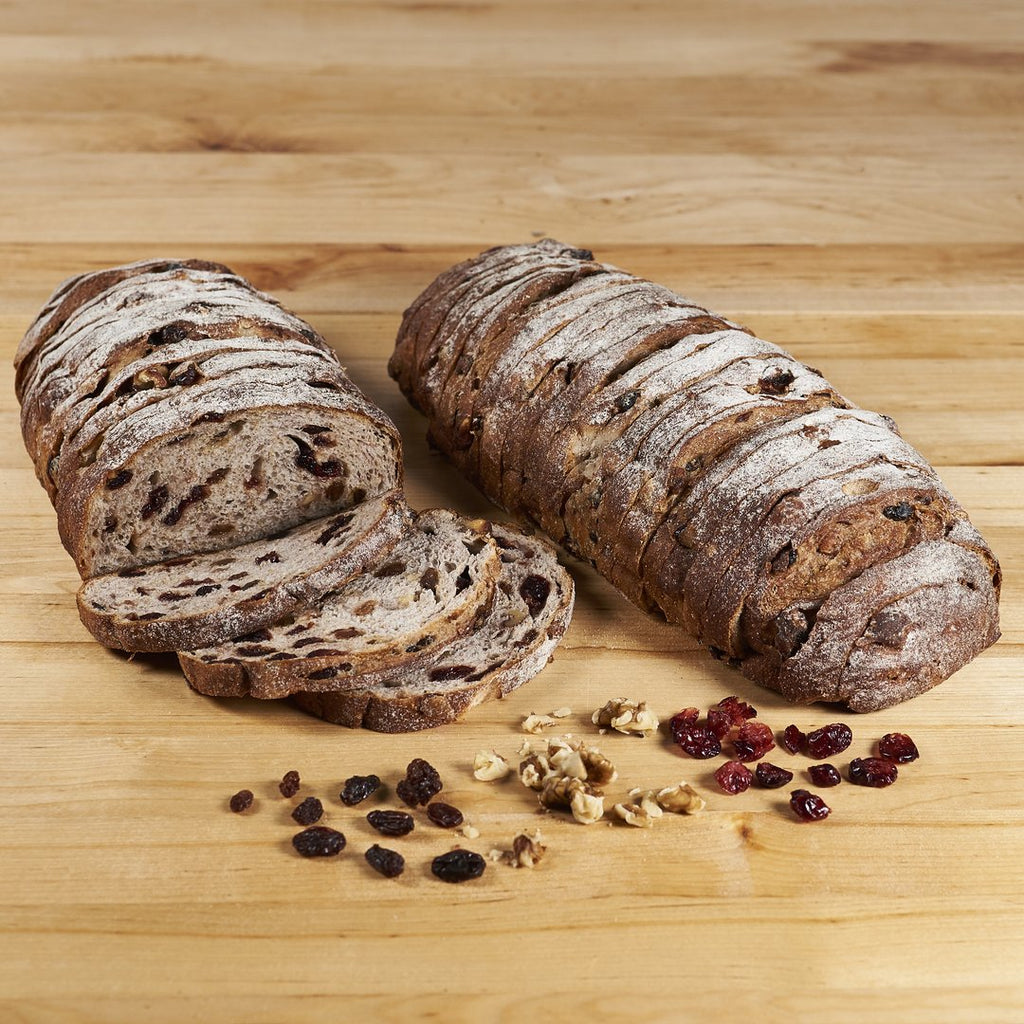 Cranberry Raisin Walnut Batard
