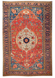 Antique Serapi Rug, 12X18