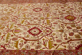 Antique Sultanabad Rug, 10' X 23'