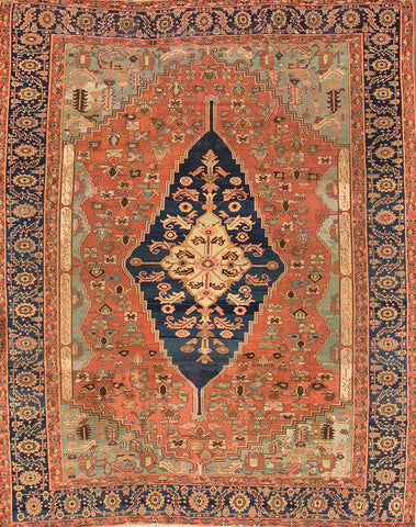Antique Serapi Rug, 11' X 13'