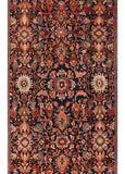 Antique Mahal Rug, 12X19