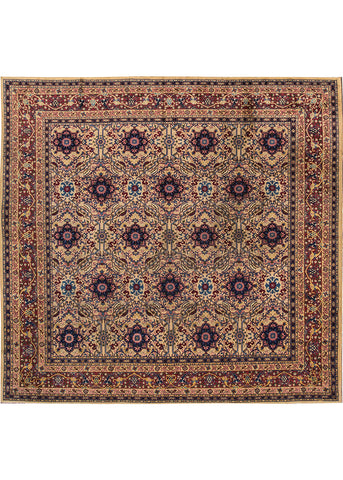 Antique Agra Rug, 10X10