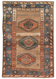 Antique Kurd Rug, 4' X 6'