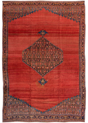 Antique Bidjar Rug, 12X17