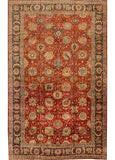 Antique Tabriz Rug, 11' X 18'
