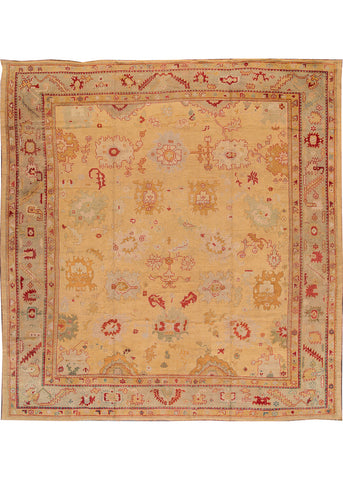 Antique Oushak Rug, 15' X 16'