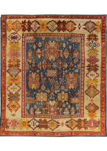 Antique Oushak Rug, 12X13