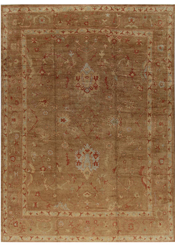 Turkish Oushak Rug, 15X19