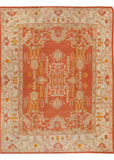 Antique Oushak Rug, 10' X 14'
