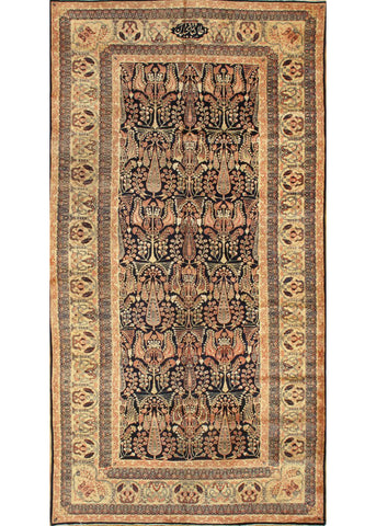 Antique Lavar Rug, 6X12