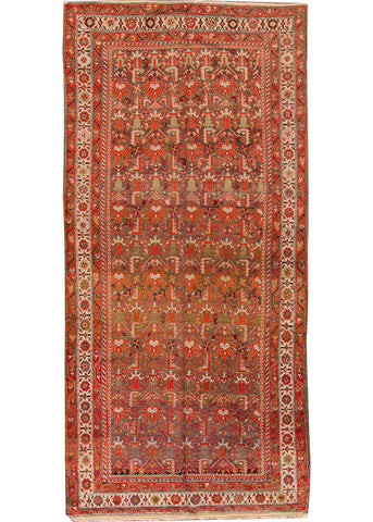 Antique Malayer Rug, 5' X 11'